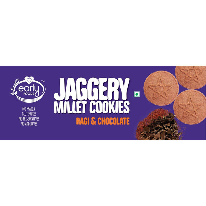 COOKIES - ORGANIC RAGI AND CHOCO - [150 GMS X 2]