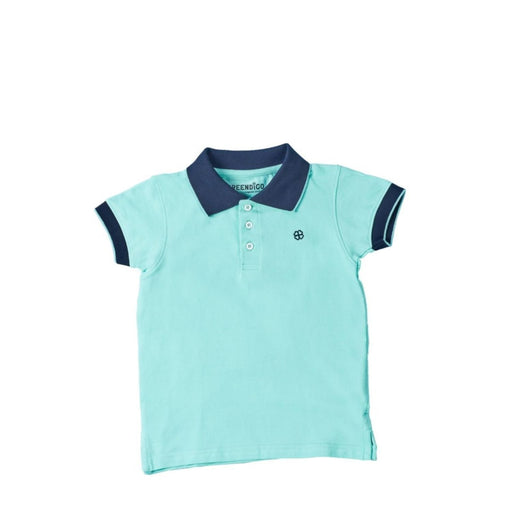 The Nestery : Greendigo - Polo Tshirt With Half Sleeves - Paris