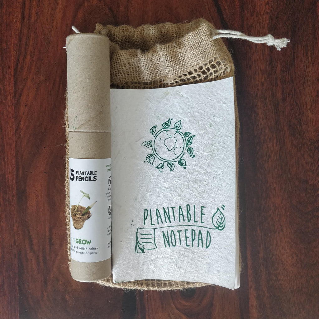 Plantable Stationary Set