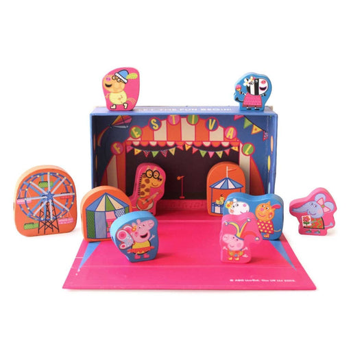 The Nestery: Shumee - Peppa Carnival Playblocks