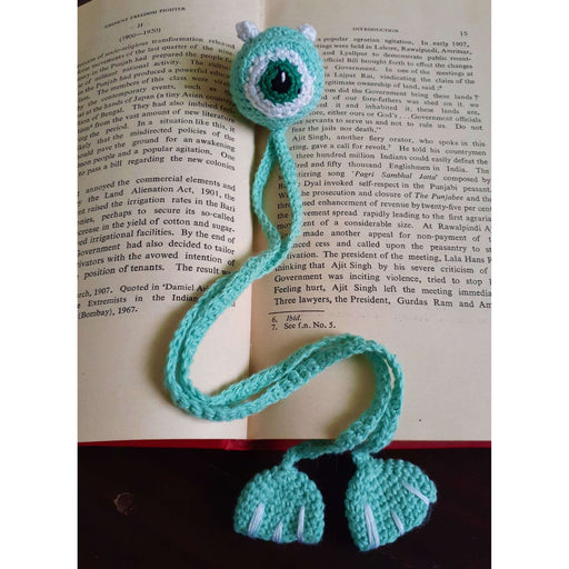 The Nestery : Plumtales - Handmade Amugurumi - Monster Bookmark