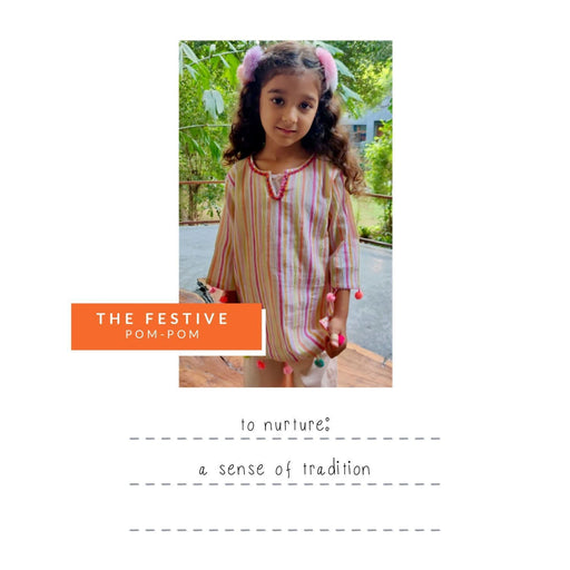 The Nestery : Oriori Kids - Pompom Festive Box - Girls