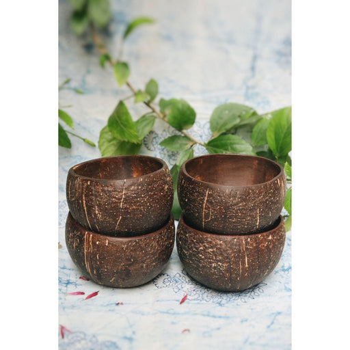 The Nestery : Almitra Sustainables - Coconut Bowl (Pack Of 4)