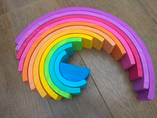 RAINBOW STACKER (PURPLE HUE) - 12 PIECE