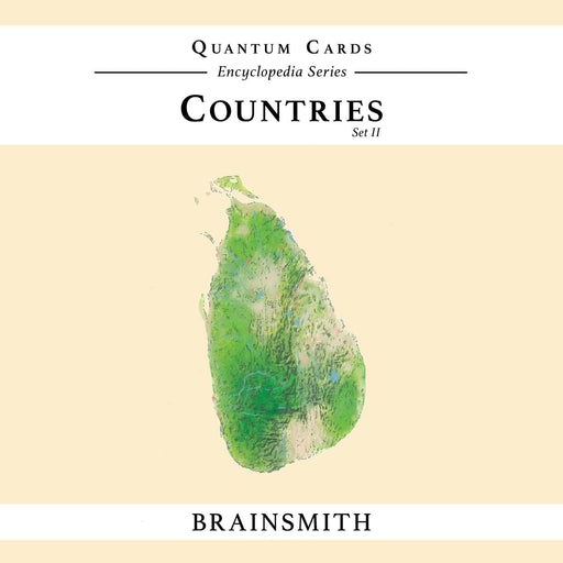 The Nestery: Brainsmith - Quantum Cards - Countries Set Ii