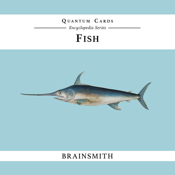 The Nestery: Brainsmith - Quantum Cards - Fish