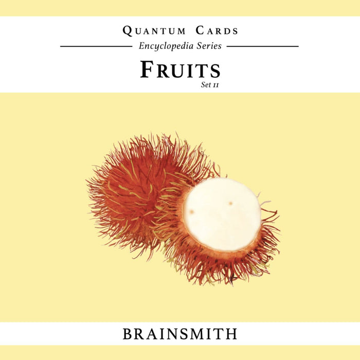 The Nestery: Brainsmith - Quantum Cards - Fruits Set Ii