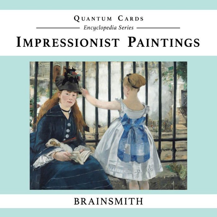 The Nestery: Brainsmith - Quantum Cards - Impressionist Paintings