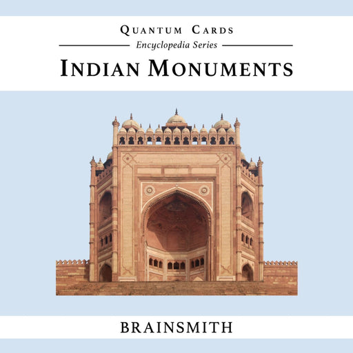 The Nestery: Brainsmith - Quantum Cards - Indian Monuments