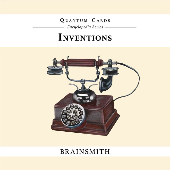 The Nestery: Brainsmith - Quantum Cards - Inventions