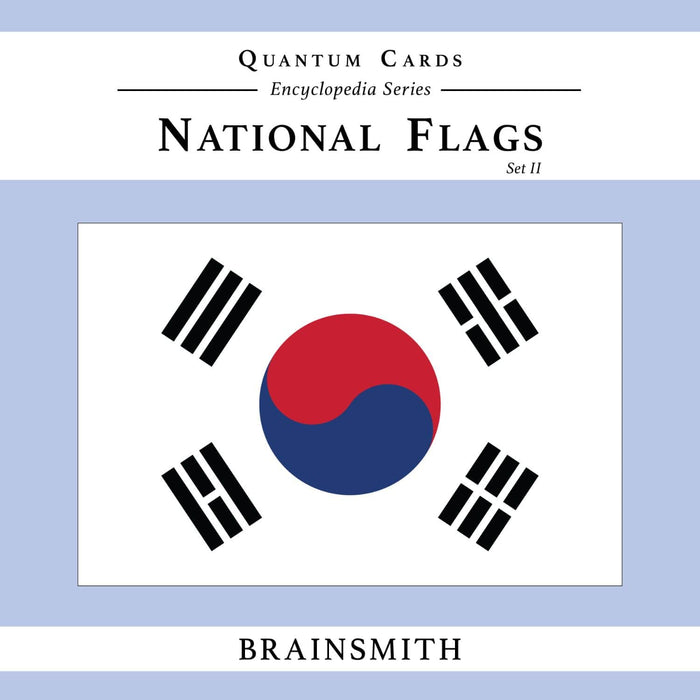 The Nestery: Brainsmith - Quantum Cards - National Flags Set Ii