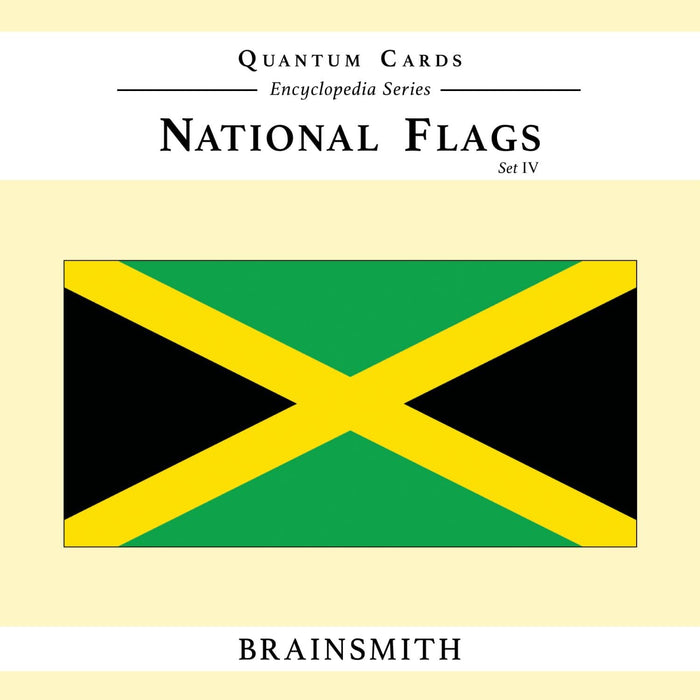 The Nestery: Brainsmith - Quantum Cards - National Flags Set Iv