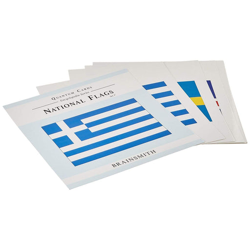 The Nestery: Brainsmith - Quantum Cards - National Flags Set V