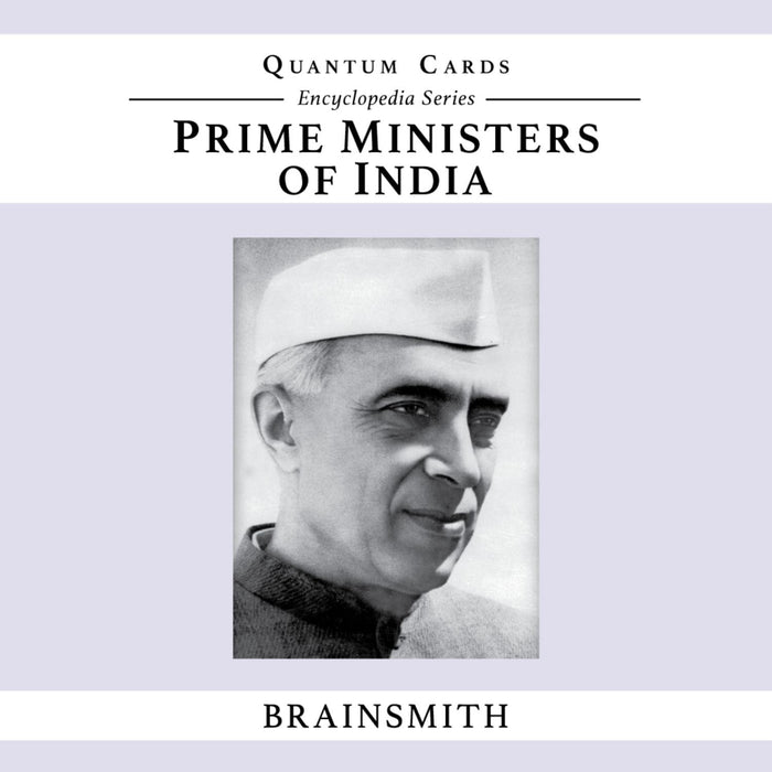 The Nestery: Brainsmith - Quantum Cards - Prime Ministers Of India