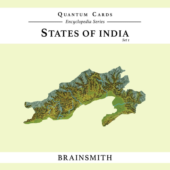 The Nestery: Brainsmith - Quantum Cards - States Of India Set I