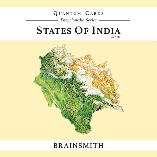 The Nestery: Brainsmith - Quantum Cards - States Of India Set Iii
