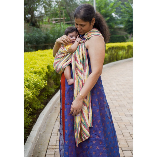 The Nestery: Cuddle N Care - Rangoli Ikat (Ring Sling)