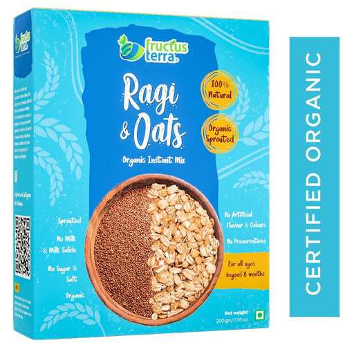 The Nestery : Fructus Terra - Organic Ragi And Oats Instant Porridge Mix