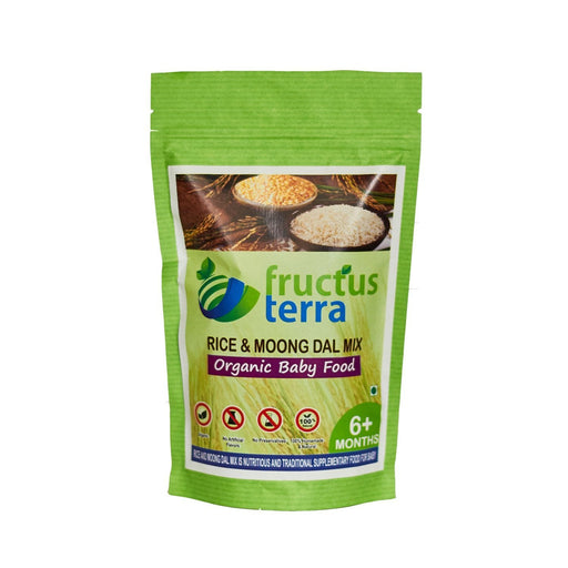 The Nestery : Fructus Terra - Organic Rice And Moongdal Mix