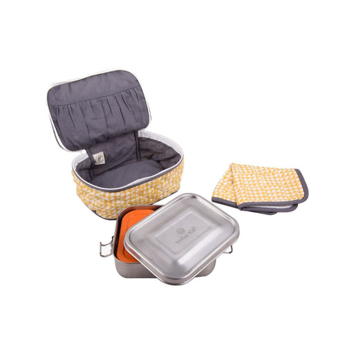 The Nestery : Taabartoli - Stainless Steel Tiffin Box And Napkin