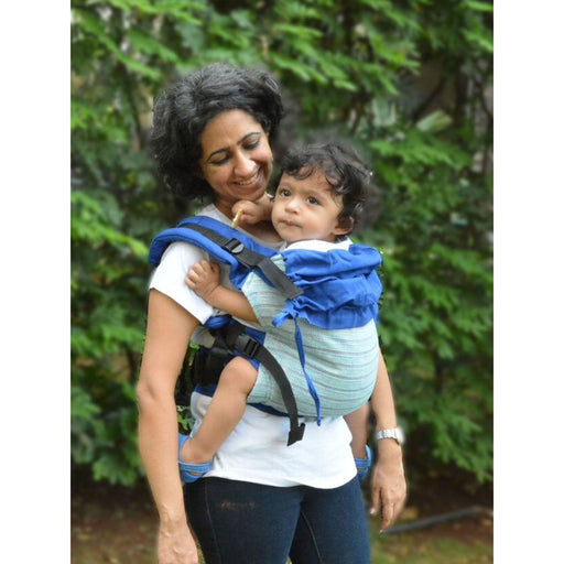 The Nestery: Cuddle N Care - Sapphire (Classic Baby Carrier)