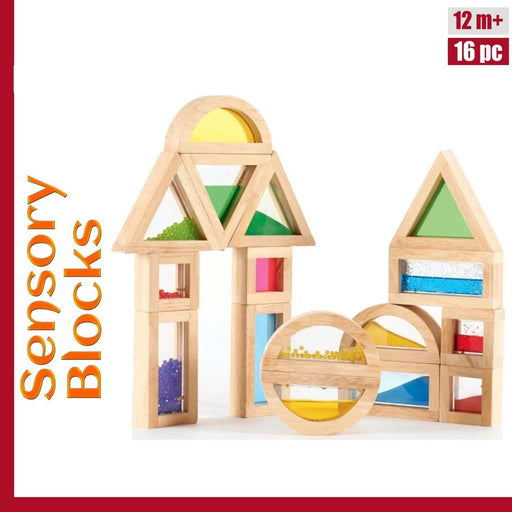 The Nestery: Sensory Play Co - Sensory Blocks (16 Pcs)
