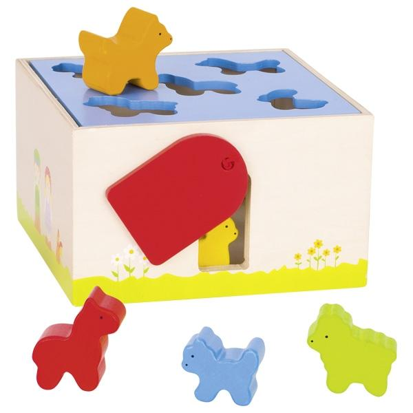 Shape Sorter box farm animal
