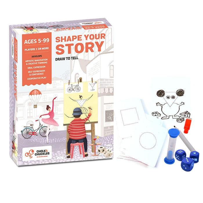 SHAPE YOUR STORY (DRAW TO TELL)