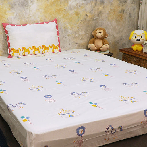The Nestery : Masaya - Bedding Set : I Am Going To The Circus - Yellow