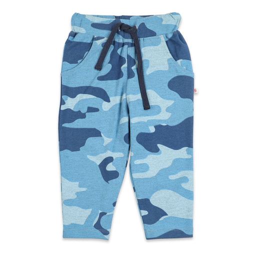 The Nestery : Greendigo - Sporty Joggers - Sky Camo