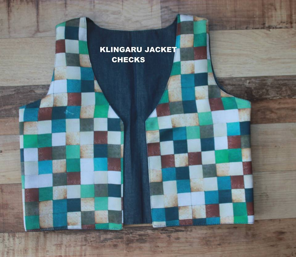 The Nestery present Klingaru reversible jackets online for kids. These are both casual and suitable for party/festival wear