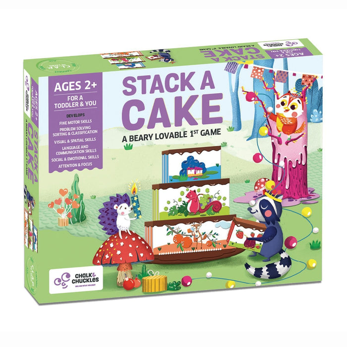 STACK A CAKE (A BEARY LOVABLE FIRST GAME)