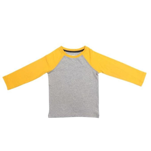 The Nestery : Greendigo - Colorblock Long Sleeve Tshirt - Sunset