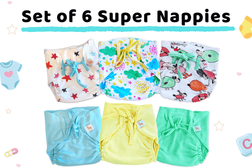 The Nestery curates online nappies for newboen made with organic cotton. They are eco-friendly diapers that come in colourful prints or solid colours.