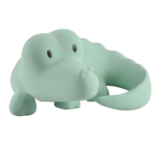 "The Nestery: TIKIRI - ""MY ZOO ANIMALS"" COLLECTION - CROCODILE NATURAL RUBBER TOY"