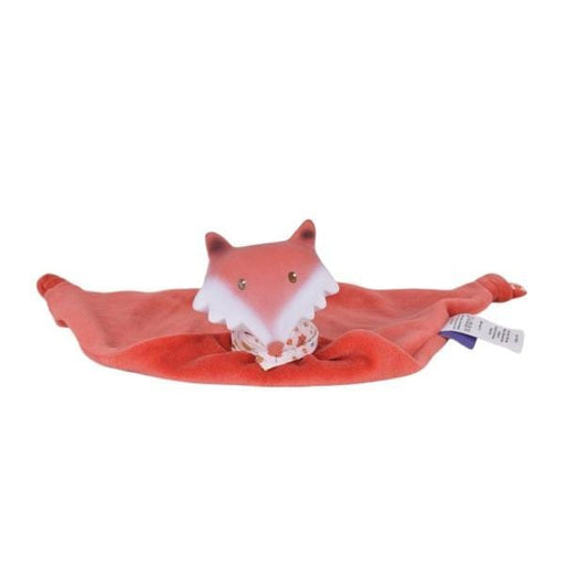 The Nestery: TIKIRI - GOODNIGHT WILDWOOD COLLECTION - FOX COMFORTER WITH RUBBER HEAD