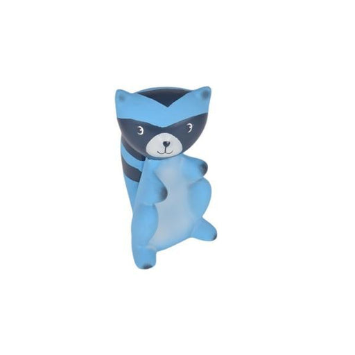 The Nestery: TIKIRI - GOODNIGHT WILDWOOD COLLECTION - RACOON RUBBER RATTLE