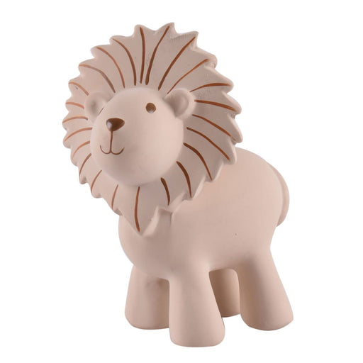 "The Nestery: TIKIRI - ""MY ZOO ANIMALS"" COLLECTION - LION NATURAL RUBBER TOY"