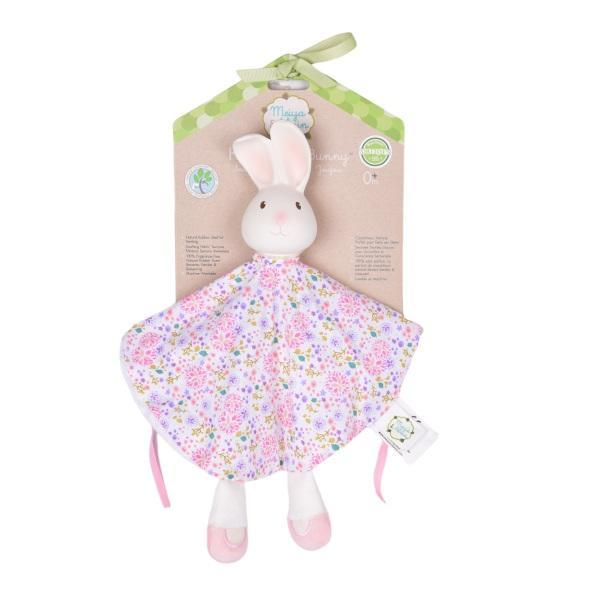 The Nestery: TIKIRI - MEIYA & ALVIN COLLECTION - HAVAH THE BUNNY SNUGGLY WITH TEETHER HEAD