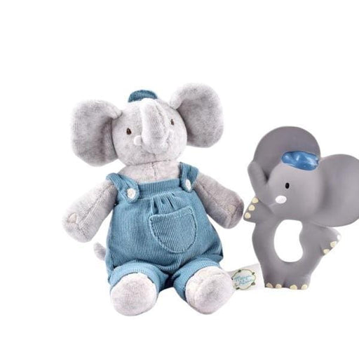 The Nestery: TIKIRI - MEIYA & ALVIN COLLECTION - TEETHER ALVIN WITH SOFT HEAD ALVIN GIFT SET