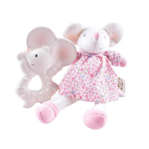 The Nestery: TIKIRI - MEIYA & ALVIN COLLECTION - TEETHER MEIYA WITH SOFT HEAD MEIYA GIFT SET