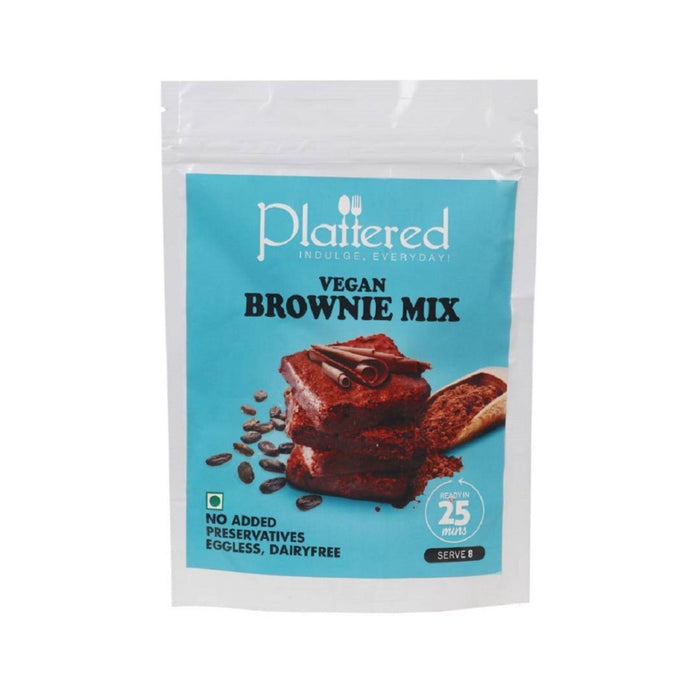 The Nestery : Plattered - Vegan Brownie Mix