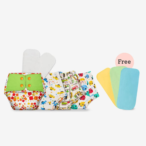 The Nestery : Superbottoms - Toddler Essential - Value Pack