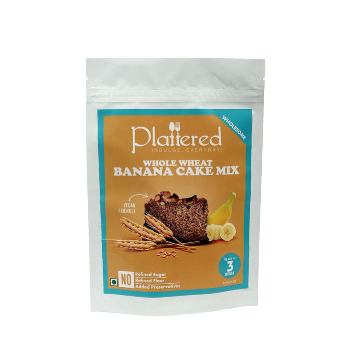 The Nestery : Plattered - Whole Wheat Banana Cake Mix + Carrot Cake Mix