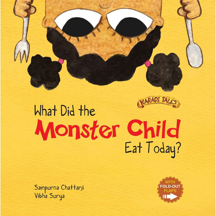 What Did The Monster Child Eat Today?