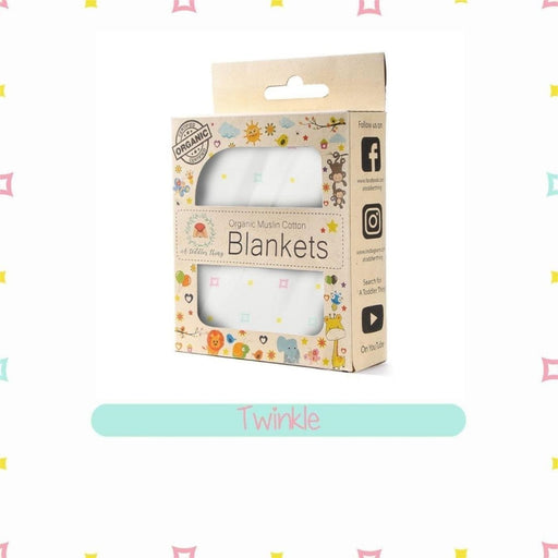 The Nestery : A Toddler Thing - Muslin Blanket - Twinkle