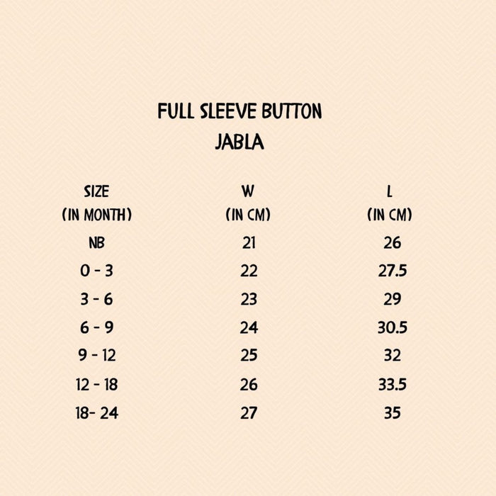 Full Sleeve Baby Button Type (2 Tops And 1 Pant) - Forest Tale