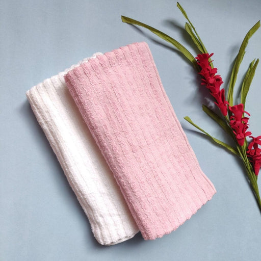 The Nestery : A Toddler Thing - Terry Towel - Pink (Combo)