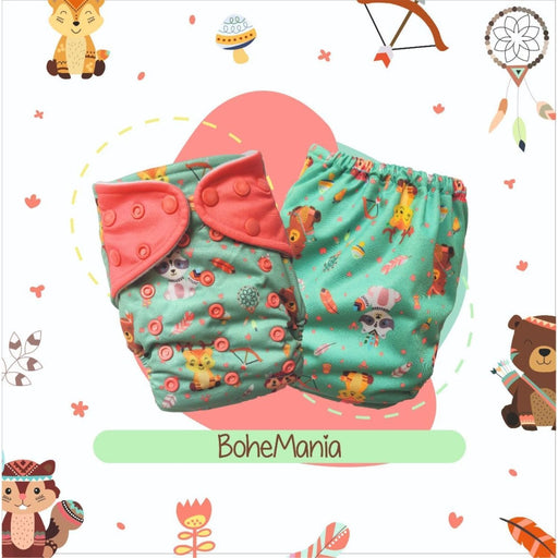 The Nestery: A Toddler Thing - Ultra Trim Cover Diaper (Regular Size Diaper) - Bohe Mania