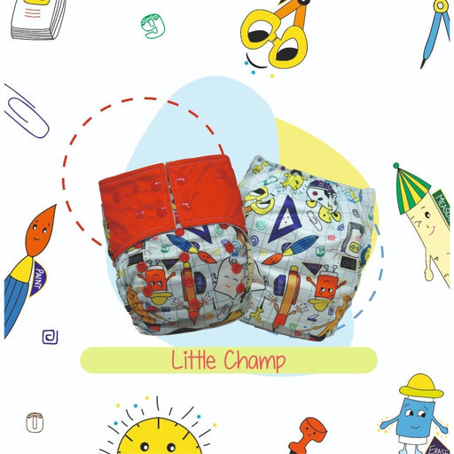 The Nestery: A Toddler Thing - Ultra Trim Cover Diaper (Regular Size Diaper) - Little Champ